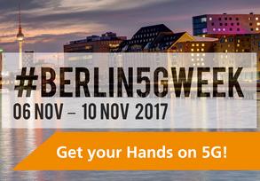#Berlin5GWeek 2017